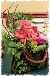 Spring arrangement in pocketbook